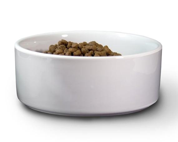 Paw Print Design Custom Dog Bowl 24 oz Food Bowl Dog Name Stainless Steel Personalized Pet Bowl Dog Bowl With Name Monogram