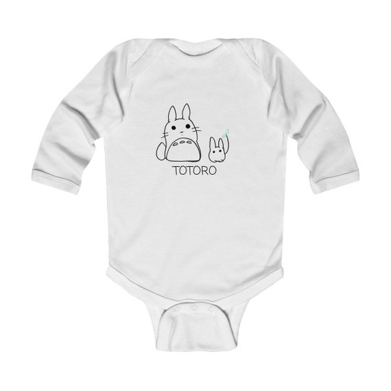 My Neighbor Totoro Studio Ghibli Fan Infant Long Sleeve Bodysui