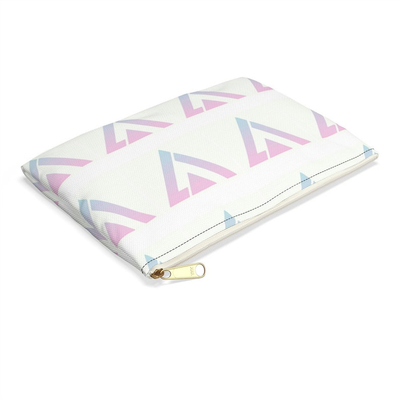 Seventeen Kpop Boy Group Colorful Logo Accessory Pouch Pencil Etsy