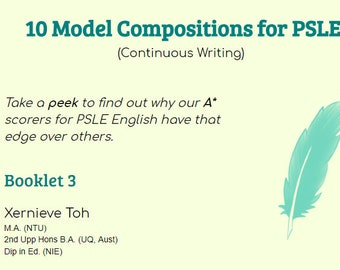 Model Composition for PSLE preparation (Book 3)