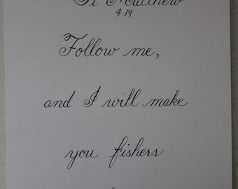 St. Matthew 4:19