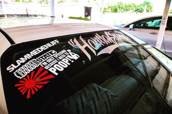 Making My Family Car Decal Funny Car Vinyl Sticker JDM Racing Turbo Honda Acura