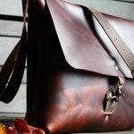 Leather Messenger Bag | Leather Laptop Bag | Leather Satchel