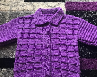 New Baby Cardigan 9/18 months