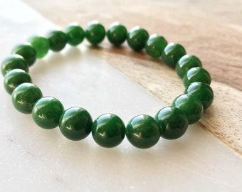 From Jade mala made of semi-precious stones, 8mm - B-1