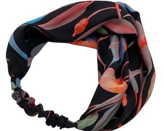 Sorrento silk headband