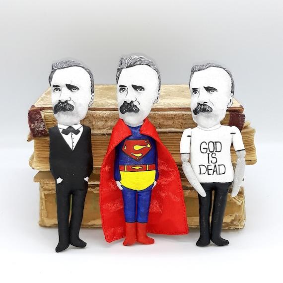 Friedrich Nietzsche philosopher doll | Etsy
