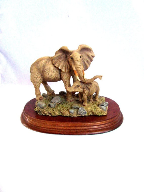 Elephant Gift Good Luck Gift Housewarming Gift New Home Gift Elephant Home Decor Country Home Decor Rustic Decor Gift