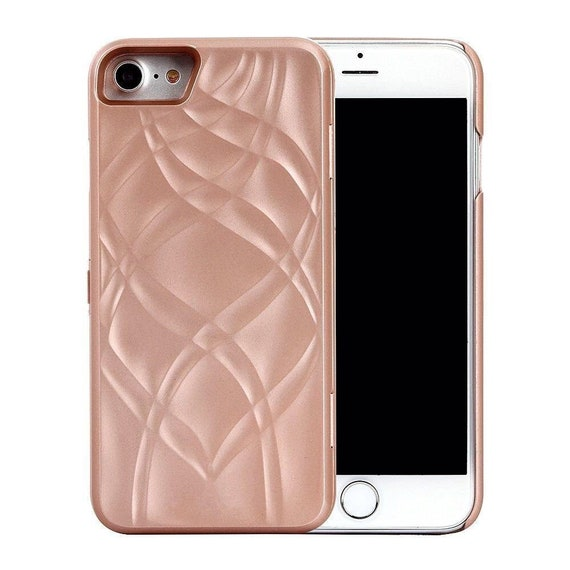 Rose Gold Iphone Case With Mirror Card Holder Built In For Etsy