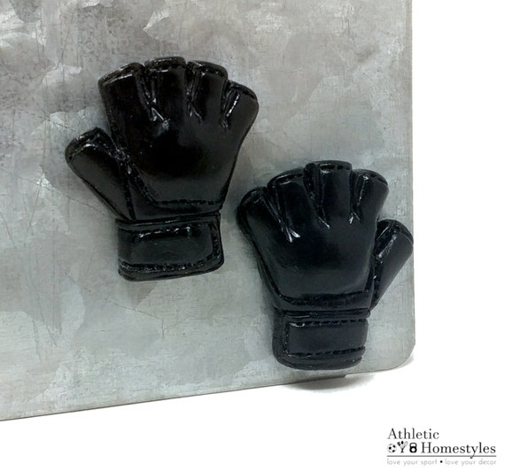Black Leather NEW Official UFC MMA Fight Gloves Mixed Martial Arts