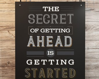 Inspirational Poster -The Secret