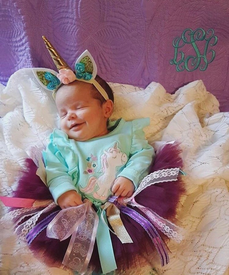 GIFT Photoshoot Prop Unicorn Birthday Party Unicorn Smash Cake Baby Unicorn Headband Toddler Unicorn headband Infant Unicorn Headband