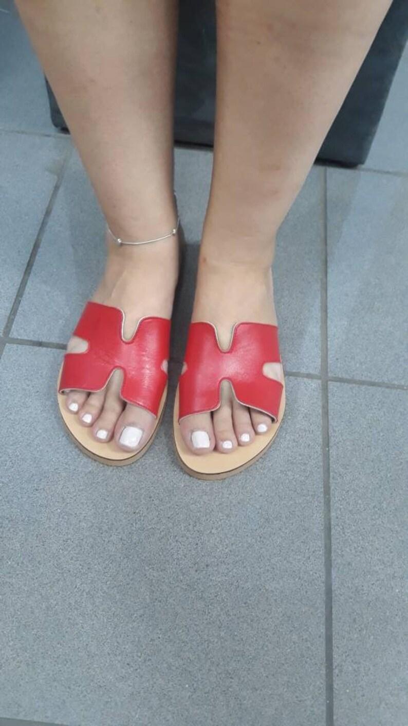 Leather Sandals,Sandalen,Sandali Greci Greek Sandals