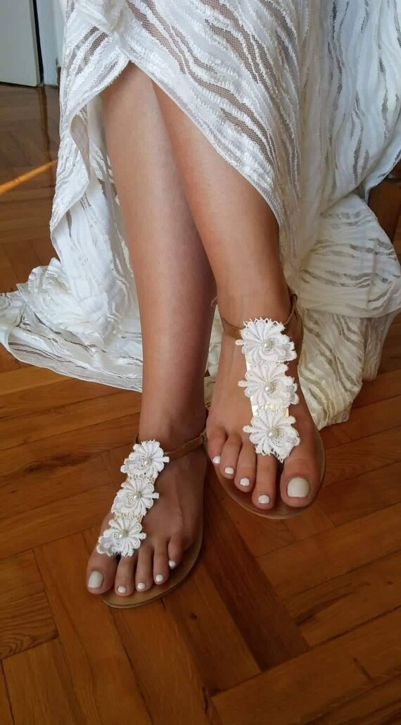 Wedding Shoes, Pearls Bridal Sandals,Vintage Lace summer Shoes For Bride, Handmade to Order,Sandales de mariee,Sandali Da Sposa,DIANA