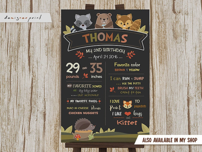 Digital Buntings Woodland Buntings Woodland Birthday Banner Forest Party Banner Printable Party Decoration Woodland Party Banner