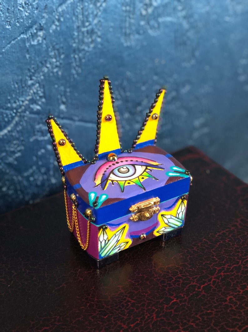All Seeing Eye Tarot Fortune Box