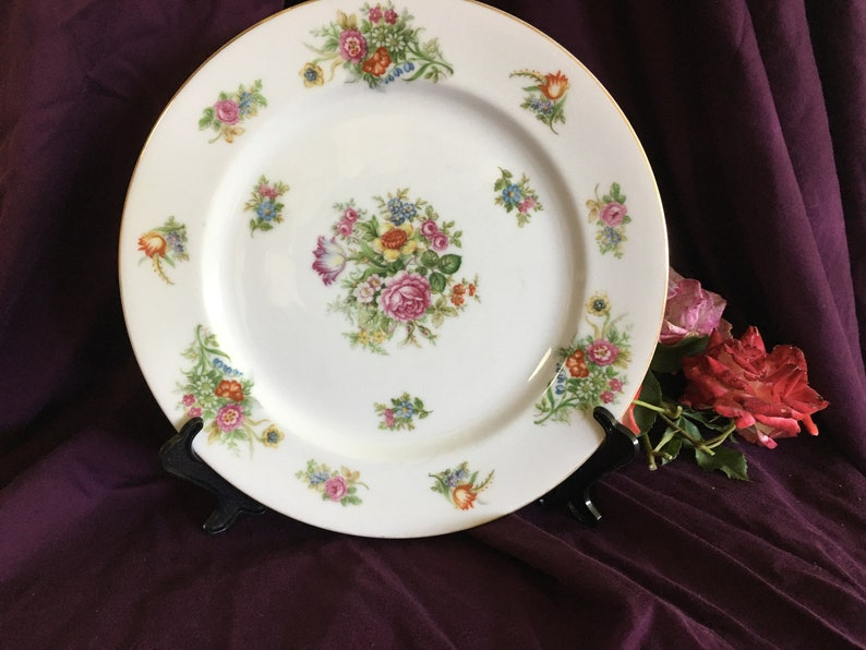 Aichi China Occupied Japan Dinner Plate