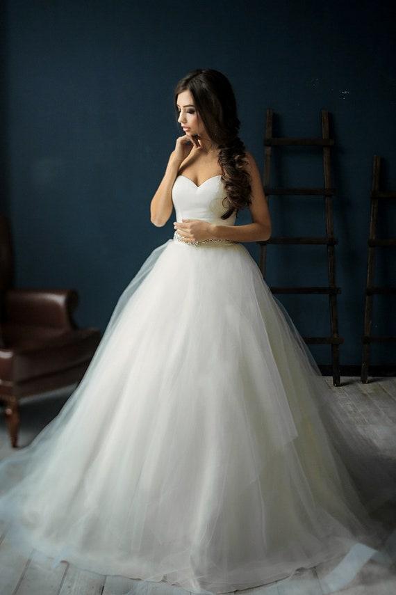Sexy modern wedding dress