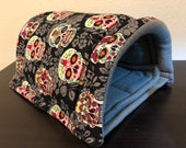 Sugar skulls Size small pet tunnel for guinea pigs, hedgehogs, rats, etc