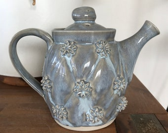 Whimsical Floral Teapot