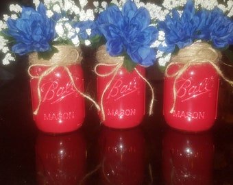 Set of 3 mason jars