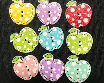 Pokadot Apple Buttons