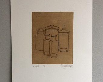 Vessels etching