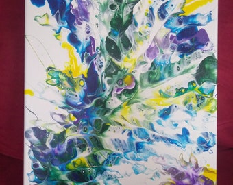 ORIGINAL, one of a kind abstract art
