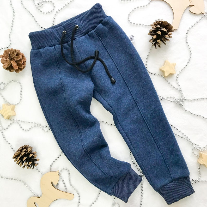 Baby outfit unisex Warm baby fleece pants Kids clothing