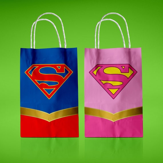 photo regarding Supergirl Logo Printable identified as Supergirl Printable Like Baggage Electronic Deal with Box Superhero Goody Luggage Justice League Birthday Bash Decoration Quick Down load Present Containers