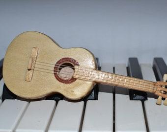 14cm Mini Tiny Tunable Handmade Spanish Acoustic Guitar