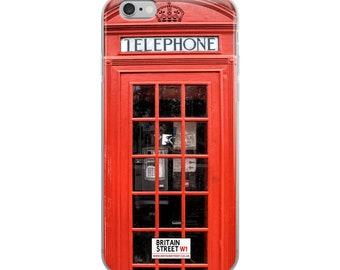 British Phone Box - iPhone Case