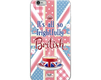 It's All So Frightfully British' iPhone Case