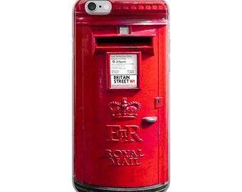 British Post Box - iPhone Case