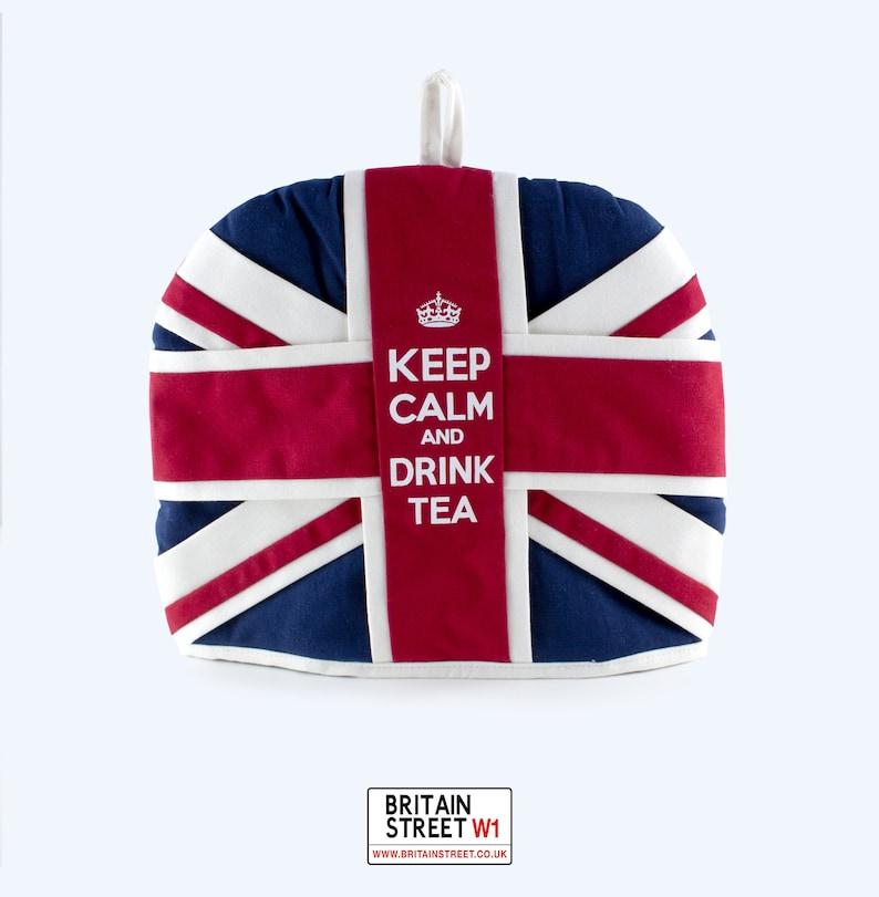Handmade Union Jack Tea Cosy image 0