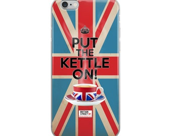 Put The Kettle On!' iPhone Case