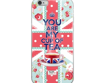 You Are My Cup of Tea' iPhone Case