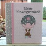 Nursery folder kita folder portfolio folder folder folder case with name primary school folder bunny pink customizable Bemali