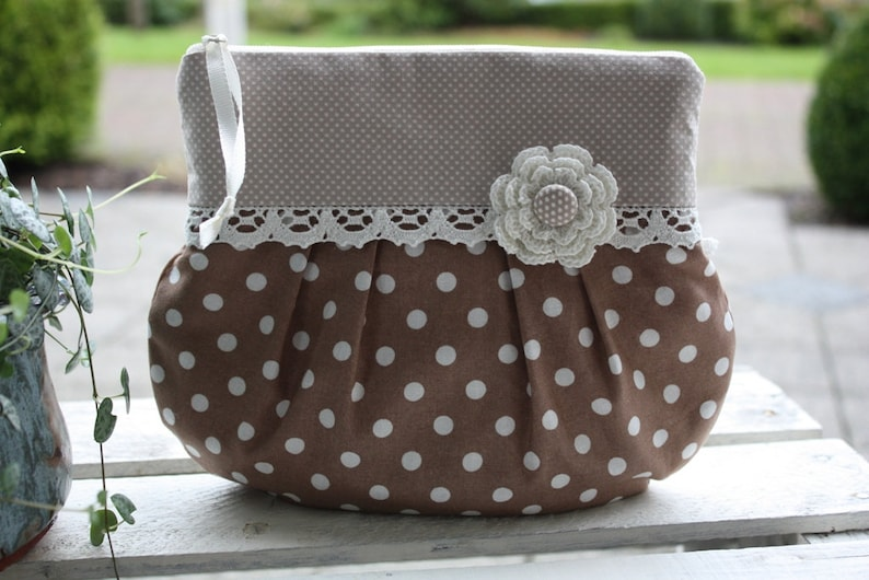 Cosmetic bag make-up pouch cosmetic bag culture bag image 0