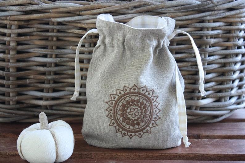 Bag Bag Christmas bag Weihnachtssckchen gift bag gift Pouch image 0