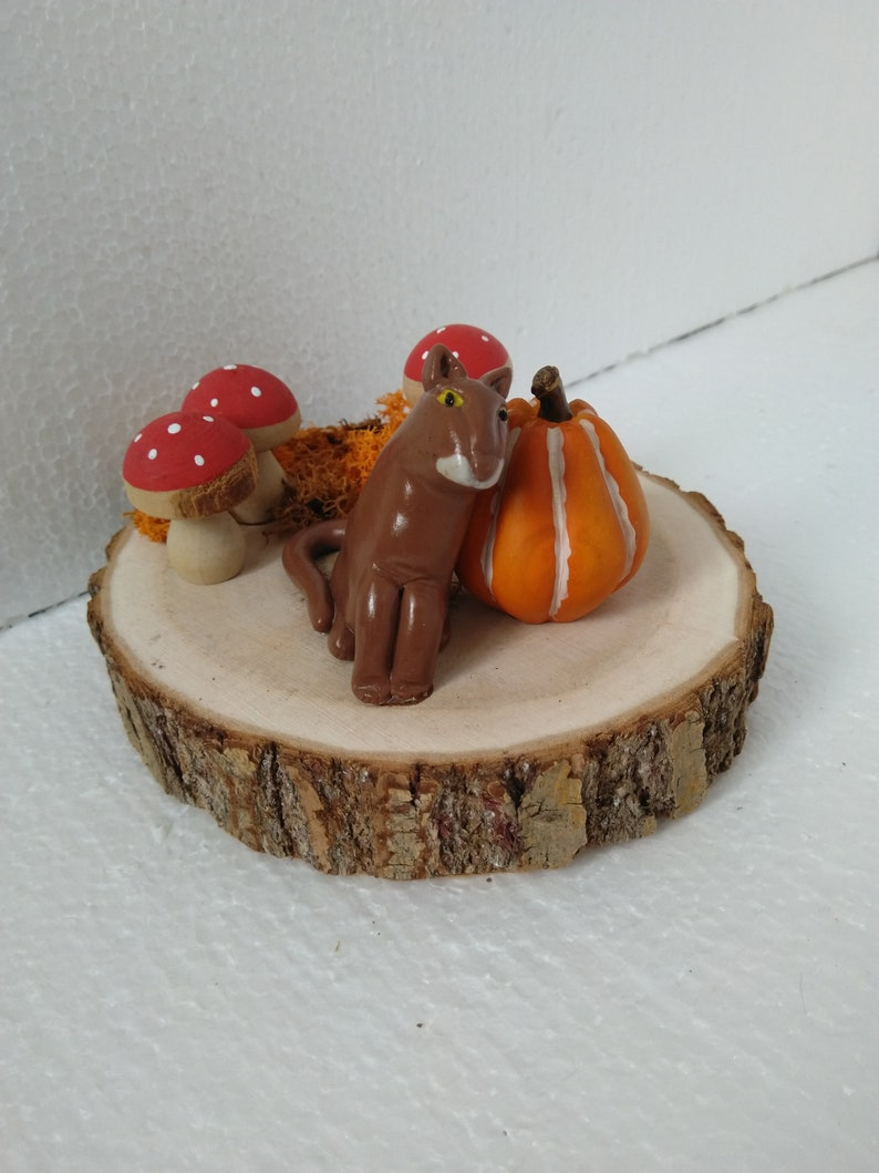 Autumn decoration Brownie as table set image 0