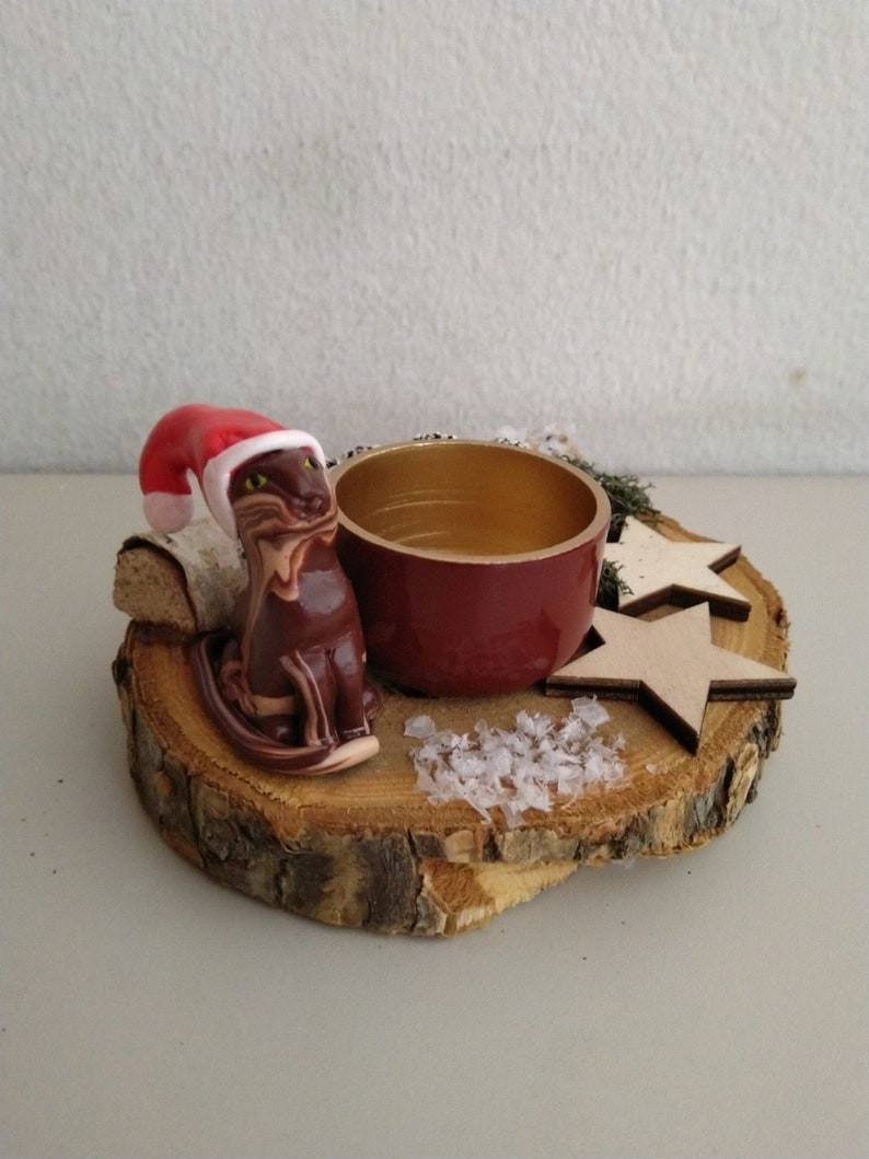 Winter decoration Chocolate for cat lovers with image 0
