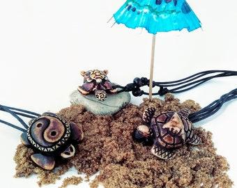 Turtle Necklace. Surfer Necklace. Sea Turtle Jewelry. Turtle Necklace for Men. Mens Turtle Necklace. Woman's Turtle Necklace. Beach Jewelry