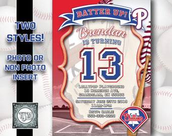 graphic relating to Phillies Printable Schedule referred to as Phillies birthday Etsy