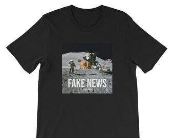 d71885b99 Fake news, Short-Sleeve Unisex T-Shirt