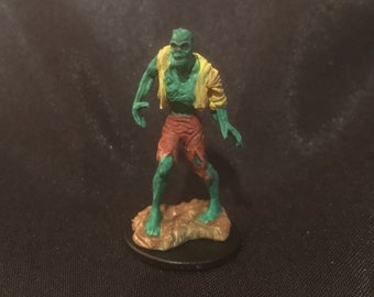 Zombie hand-painted miniature