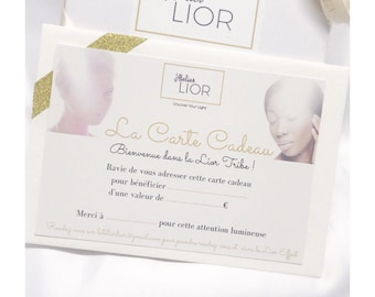 The Gift Card by L'Atelier LIOR