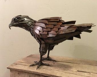 Oiseau International Statue Laiton Hosley Aigle Vintage En Figurine SwO1Hxn