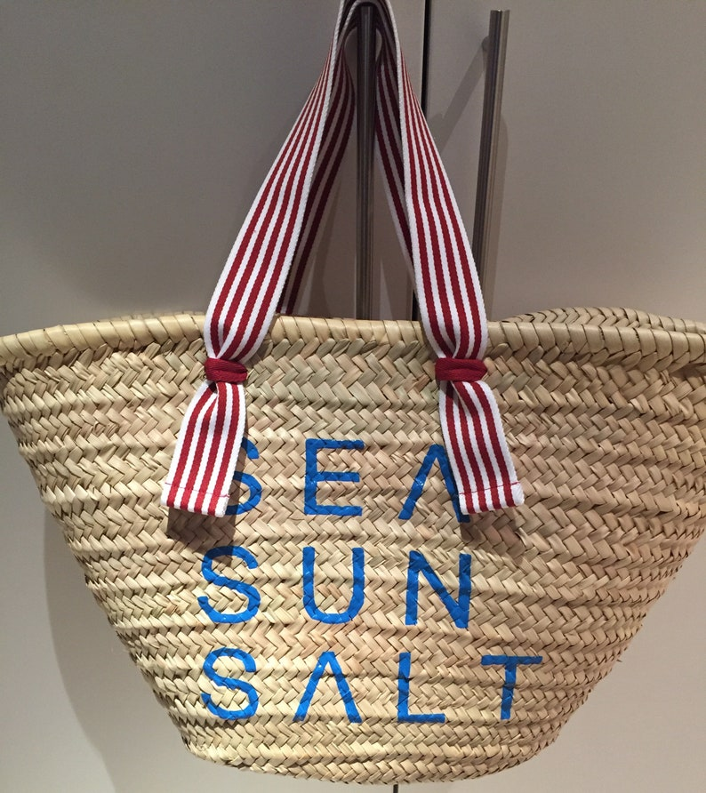 2189973e6ea Ibiza-Basket sea sun salt and fabric straps