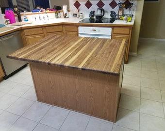 Hardwood Countertop